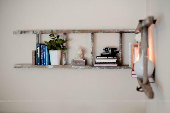 houten-ladder-muur
