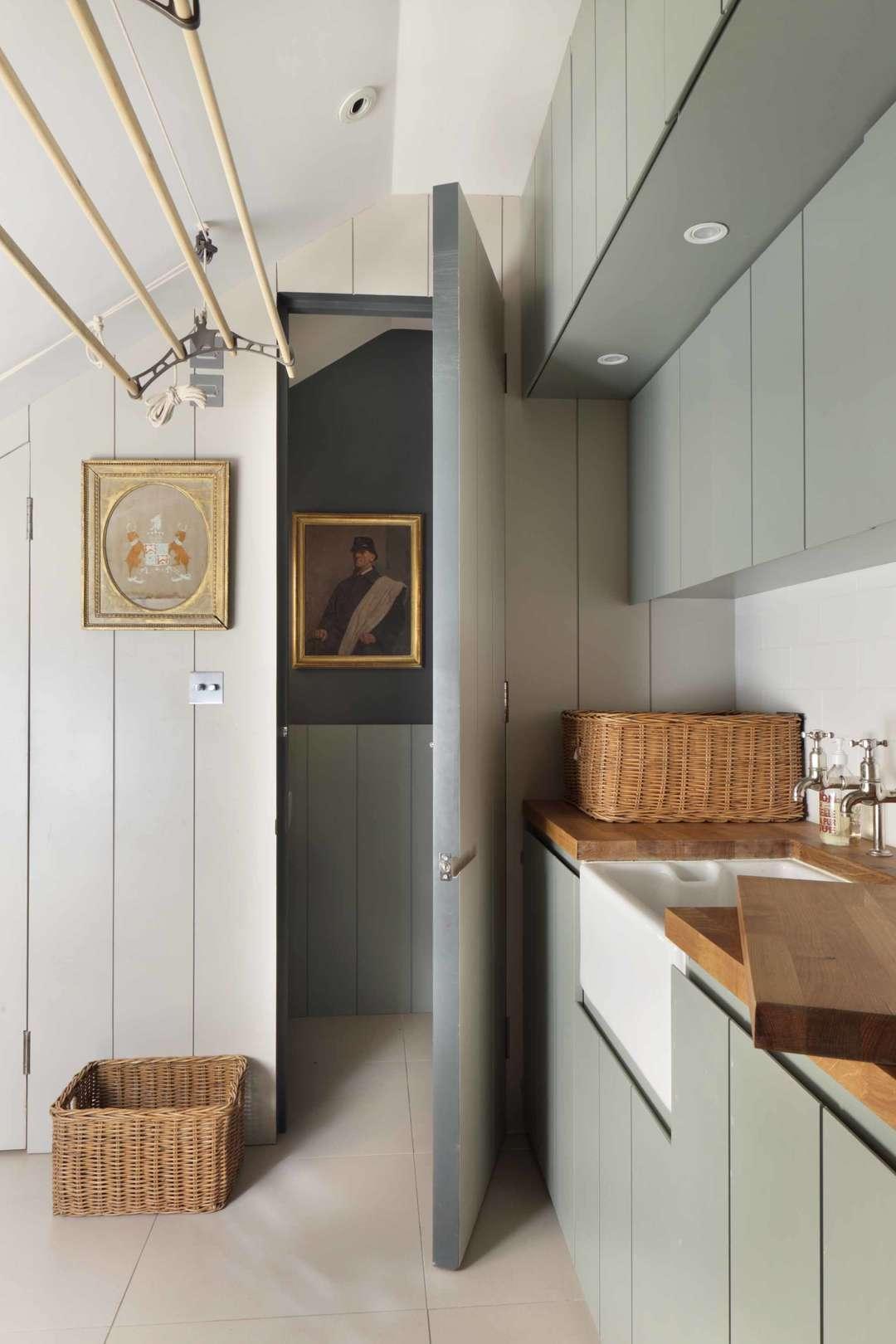 houten-wasrek-plafond