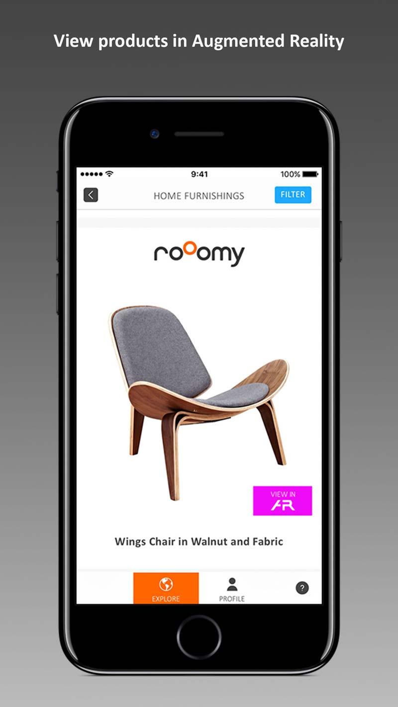 huis inrichten app RoOomy