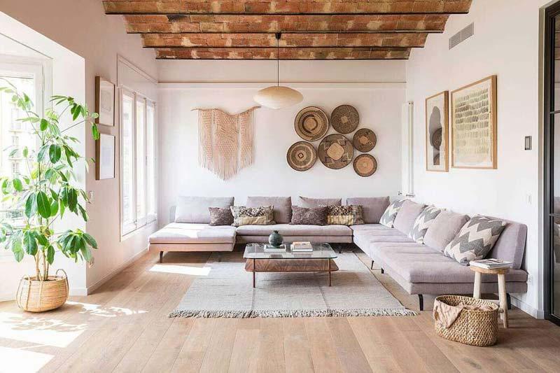 huis inrichten tips warme texturen