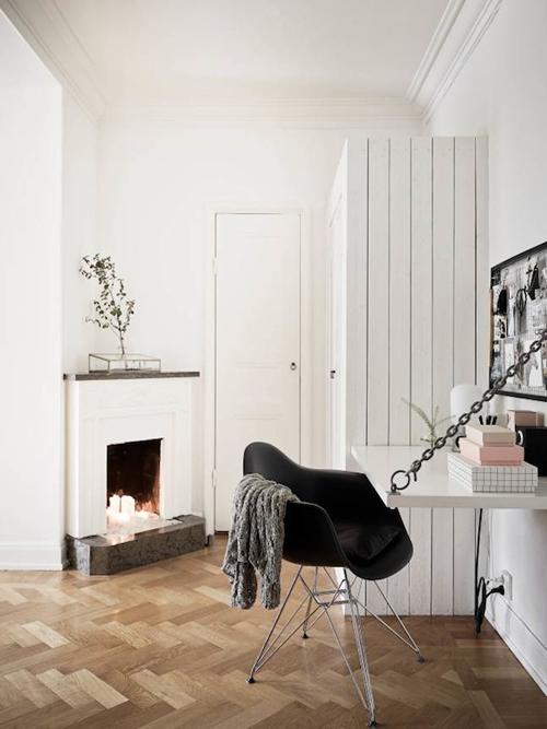 Huis met een herfstachtige uitstraling
