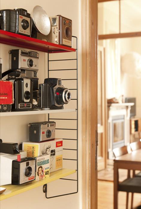 Huis vol vintage stukken in Antwerpen