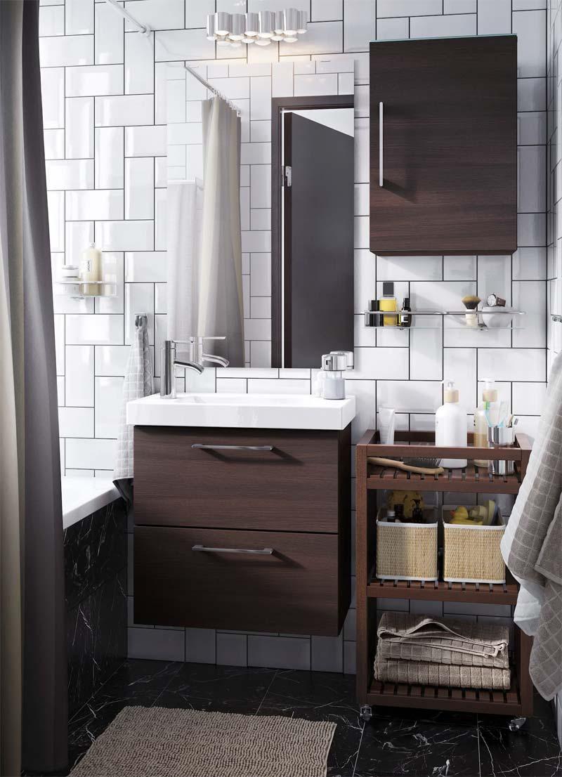 Goede 8x Ikea badkamers HJ-26