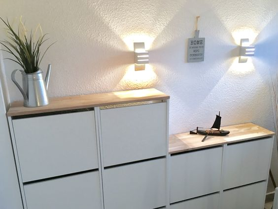 IKEA BISSA schoenenkast hack