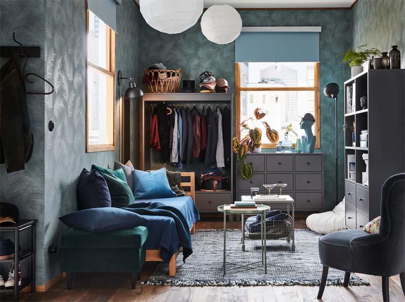 IKEA BRYGGJA kledingkast