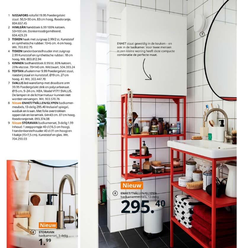 ikea catalogus ennet keuken badkamerserie