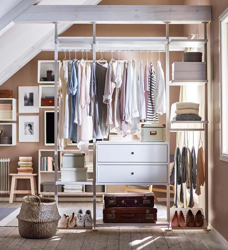 IKEA ELVARLI kledingkast