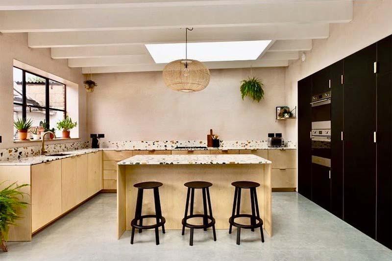ikea keuken hack husk multiplex terrazzo