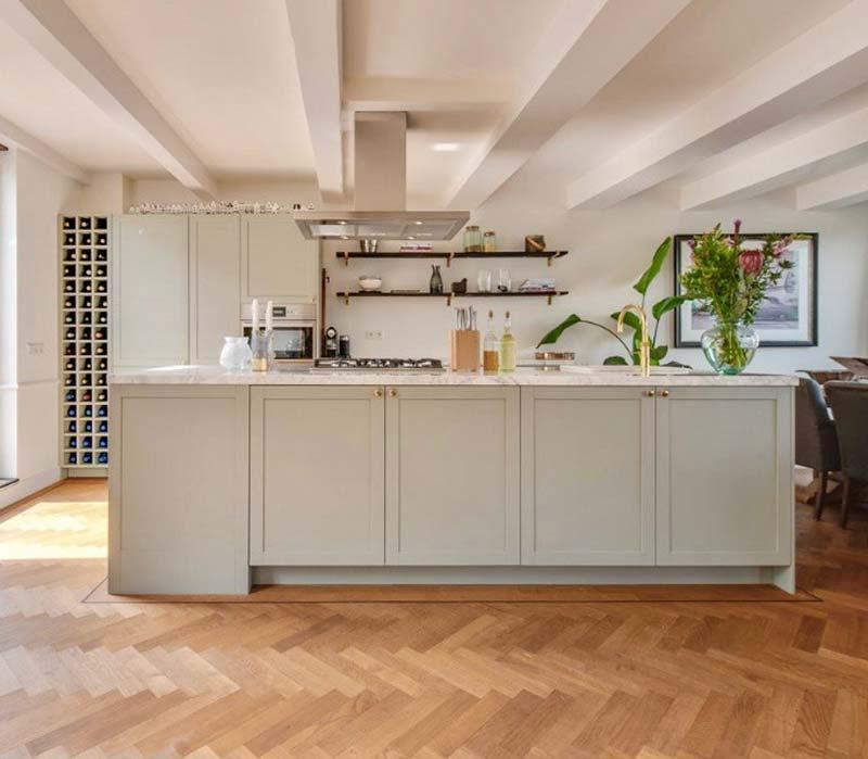 ikea keuken hack koak grijsgroen