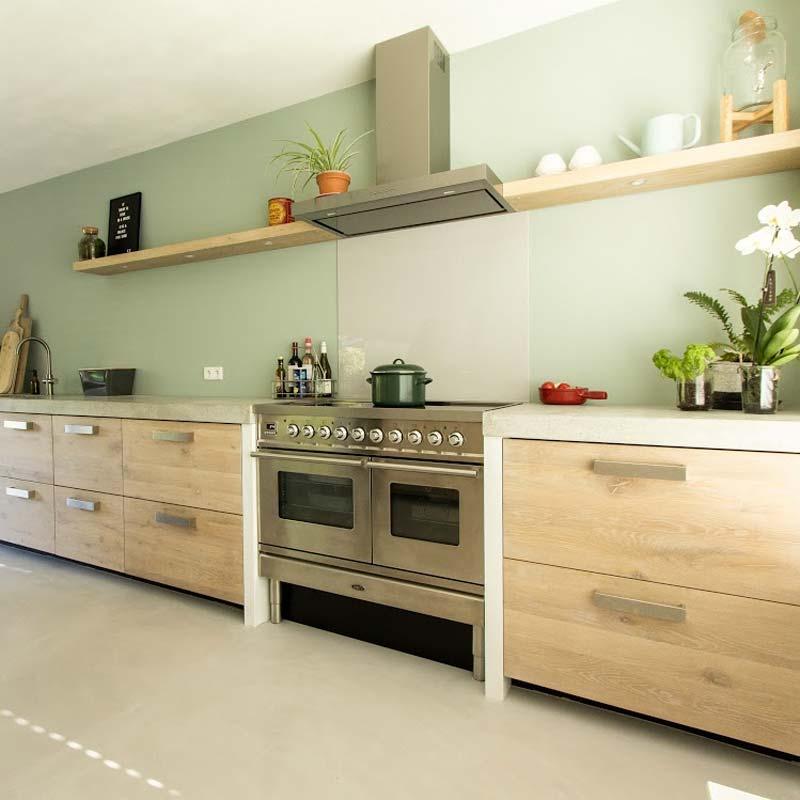 ikea keuken hack koak white wash eikenhout