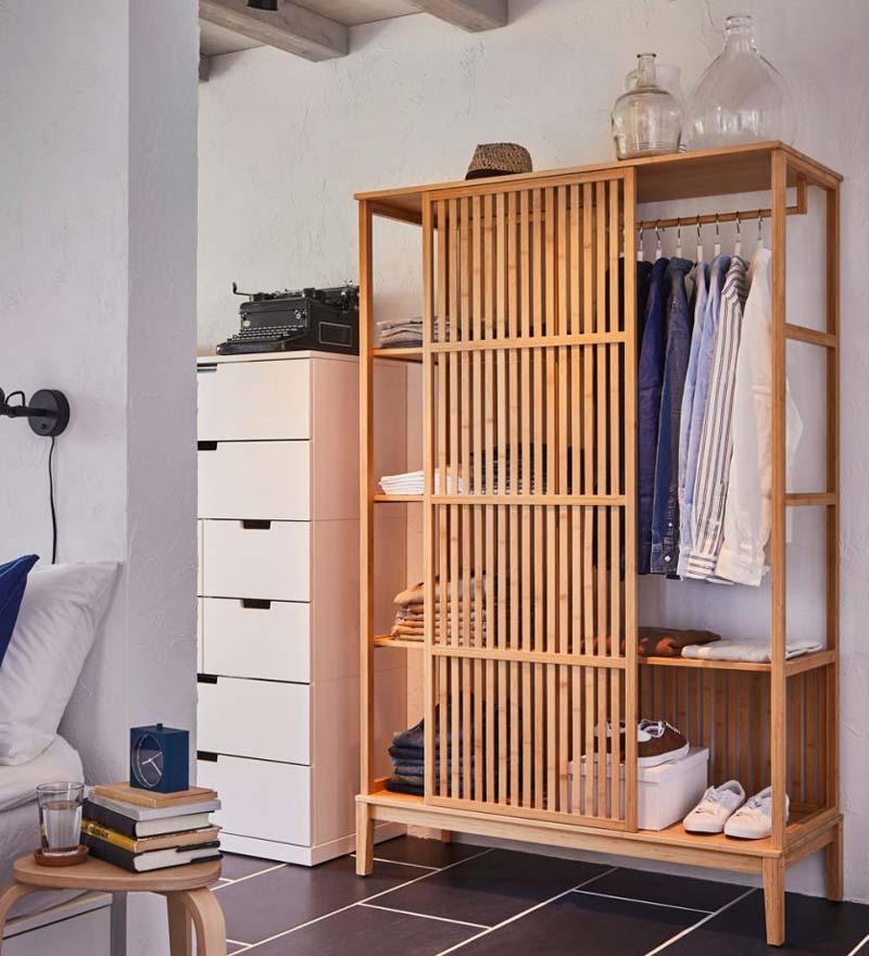 IKEA NORDKISA kledingkast