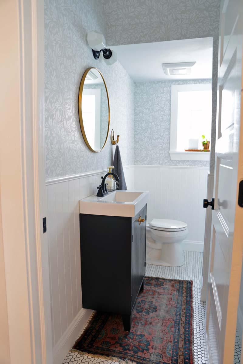 IKEA smalle badkamer Silveran