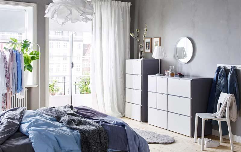 IKEA VISTHUS kledingkast