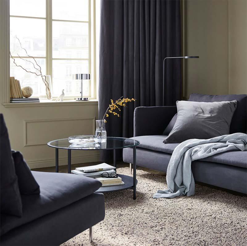 IKEA Hoogpolig vloerkleed VINDUM