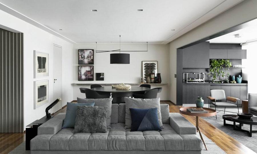 Voorkeur In deze moderne woonkamer zijn twee zithoeken ingericht! | Huis #HV98