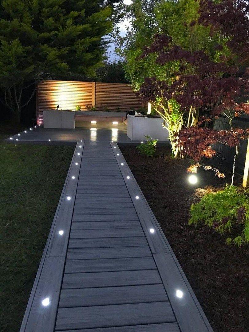 inbouwspots looppad tuin