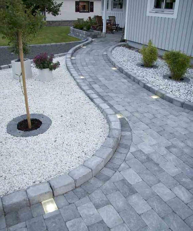 inbouwspots stenen tuin