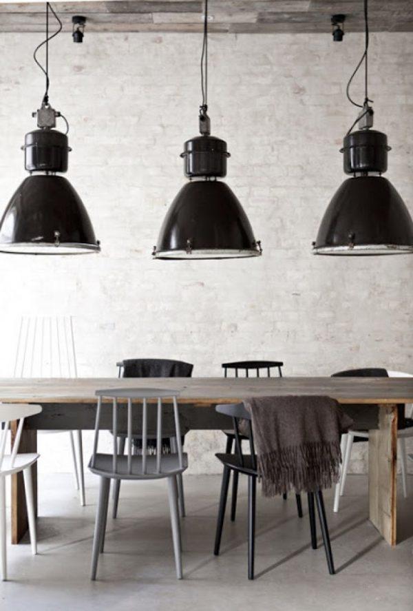 industrieel interieur industriële hanglampen