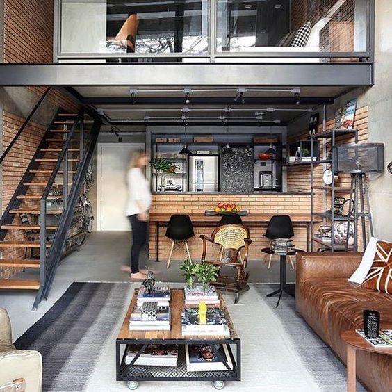 industrieel interieur salontafel