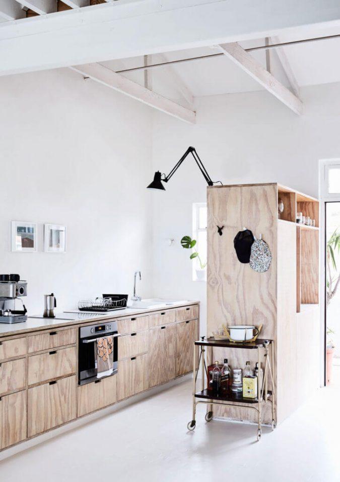 industrieel interieur underlayment keuken