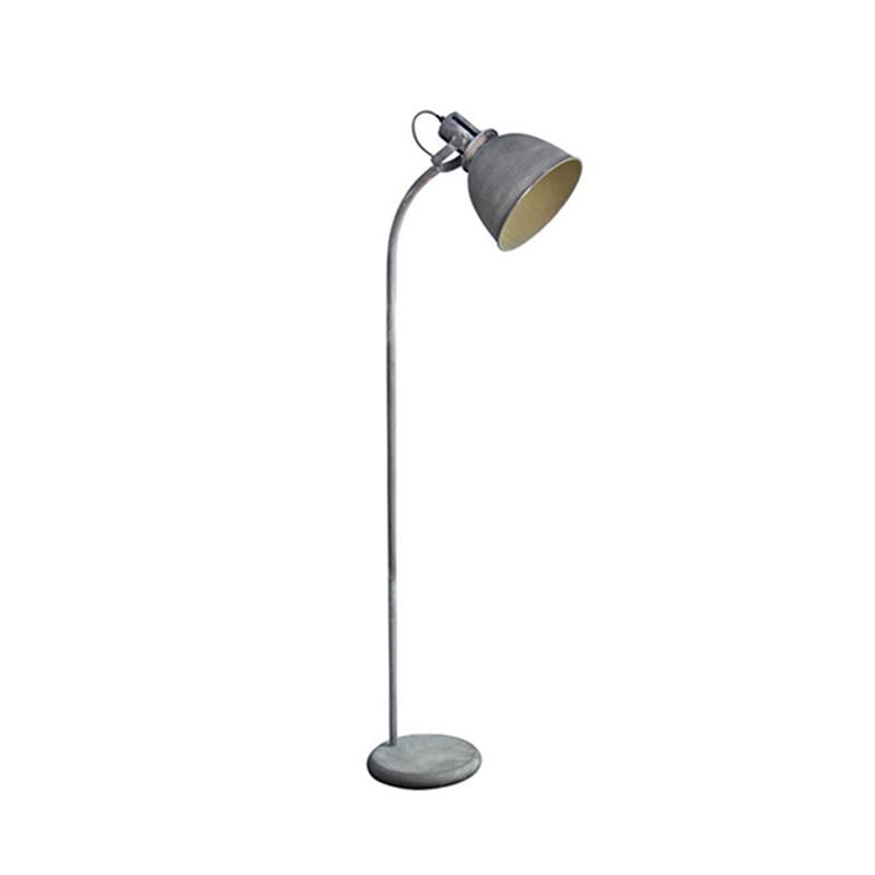 industriële betonlook vloerlamp