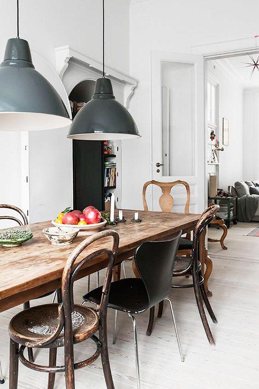 Industriele Lamp Boven Ronde Tafel.Industriele Hanglamp Boven De Eettafel Huis Inrichten Com