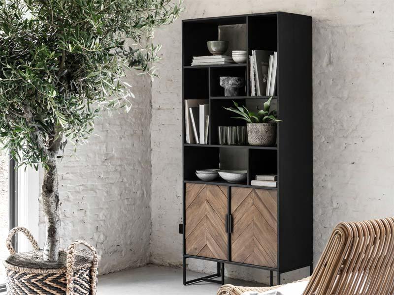 industriele meubels boekenkast