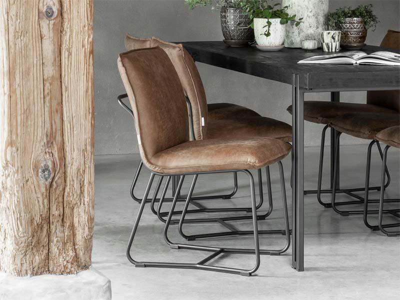 industriele meubels eetkamerstoelen
