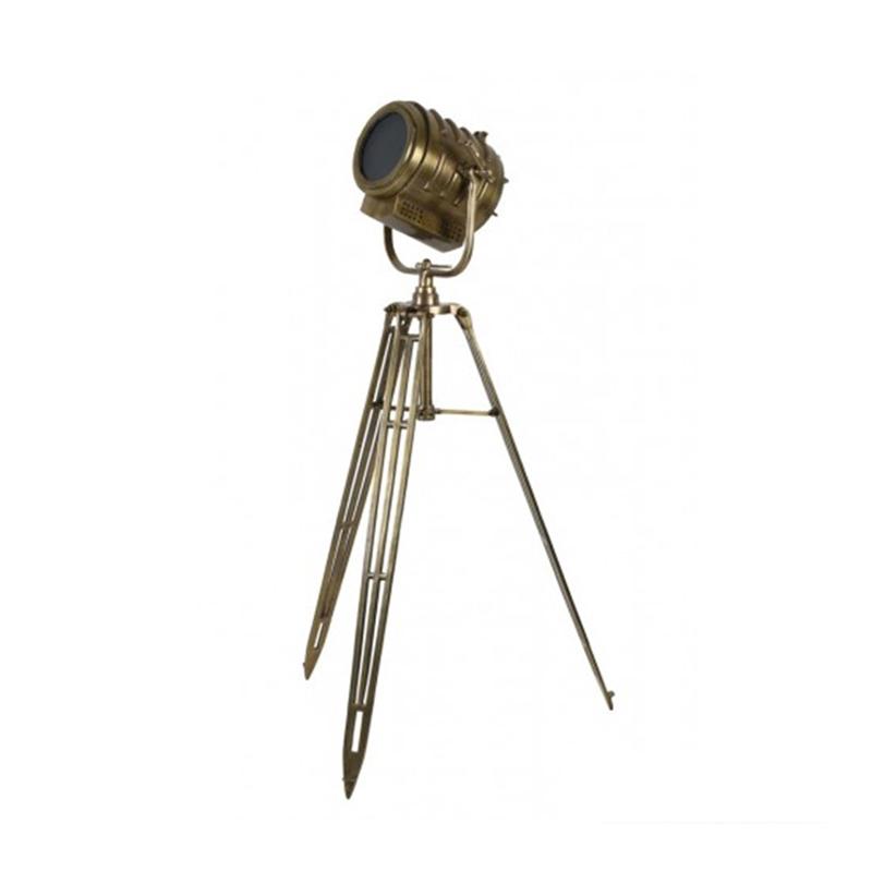 industriële telescoop vloerlamp