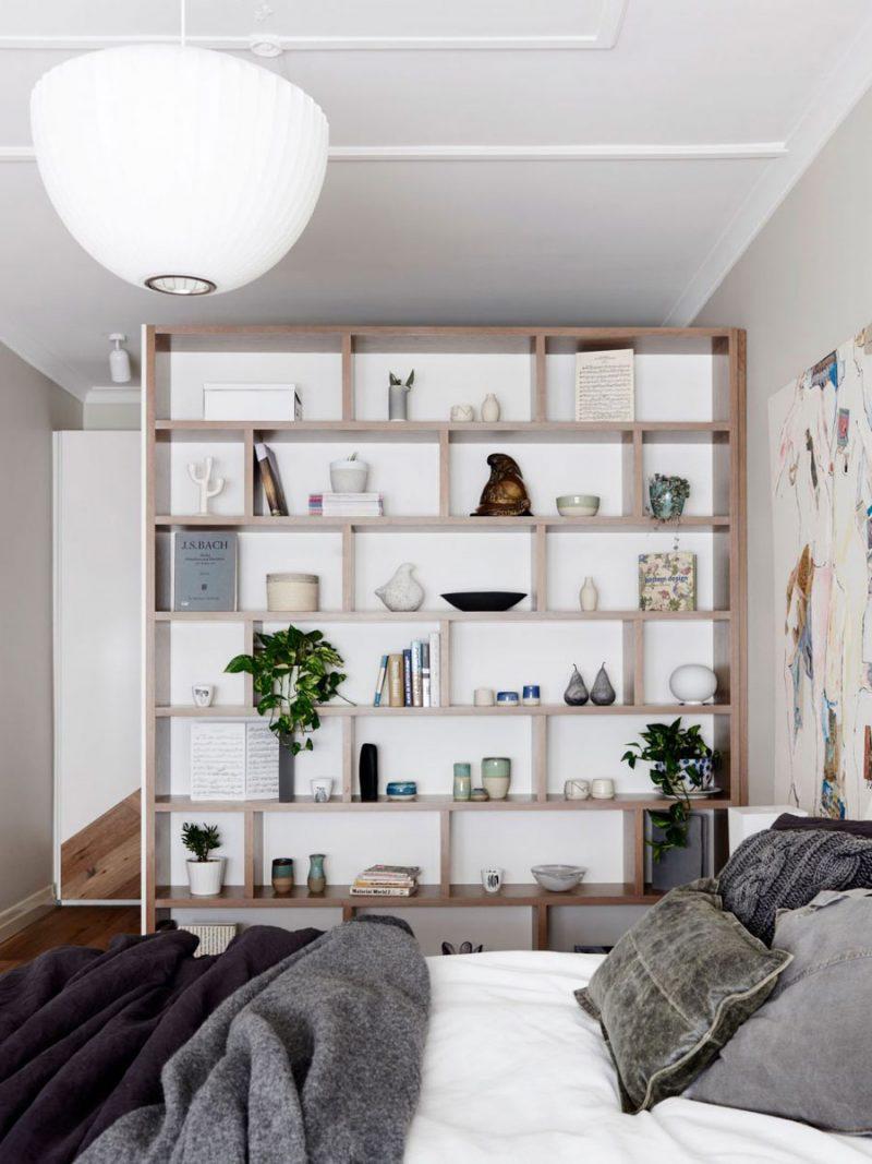 inloopkast maken scheidingswand slaapkamer