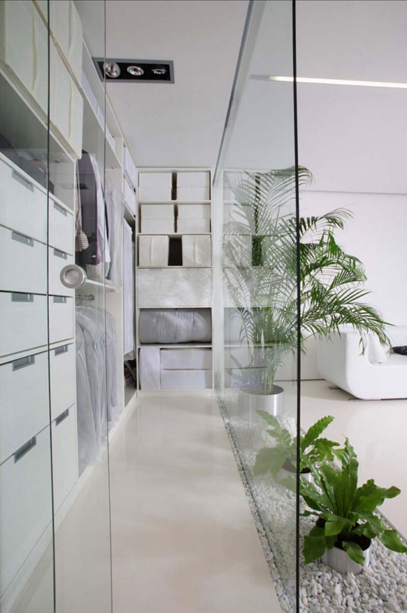 inloopkast maken woonkamer
