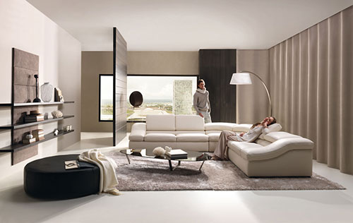 Moderne Woonkamer Inrichting : Moderne woonkamers voorbeelden