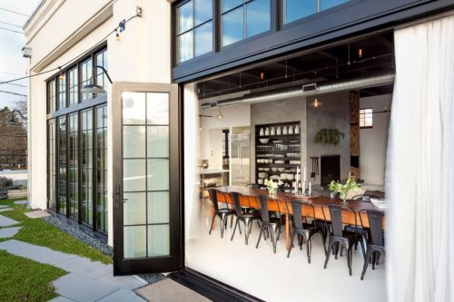 Inrichting van een grote woning uit Portland