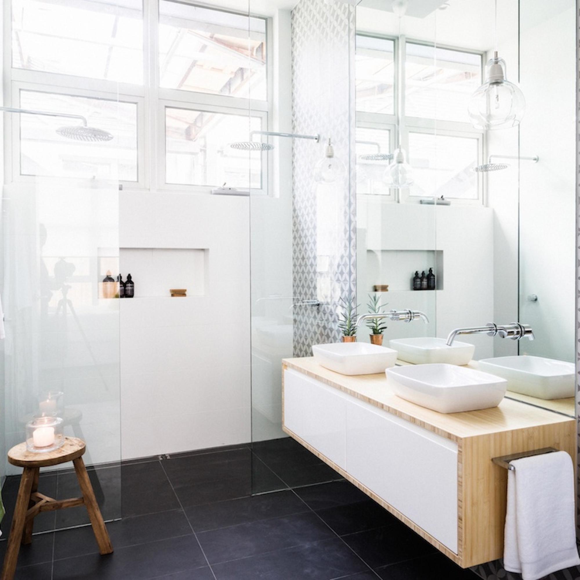 Inspirerende badkamerverbouwing van Darren & Deanne