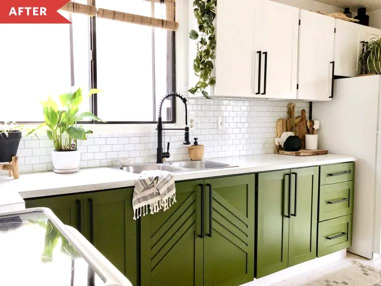 Inspirerende keukenverbouwing met een budget van nog geen 600 euro!