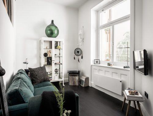 Inspirerende kleine woonkamer van appartement van 42m2