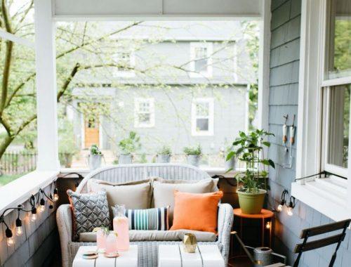 Inspirerende veranda make-over