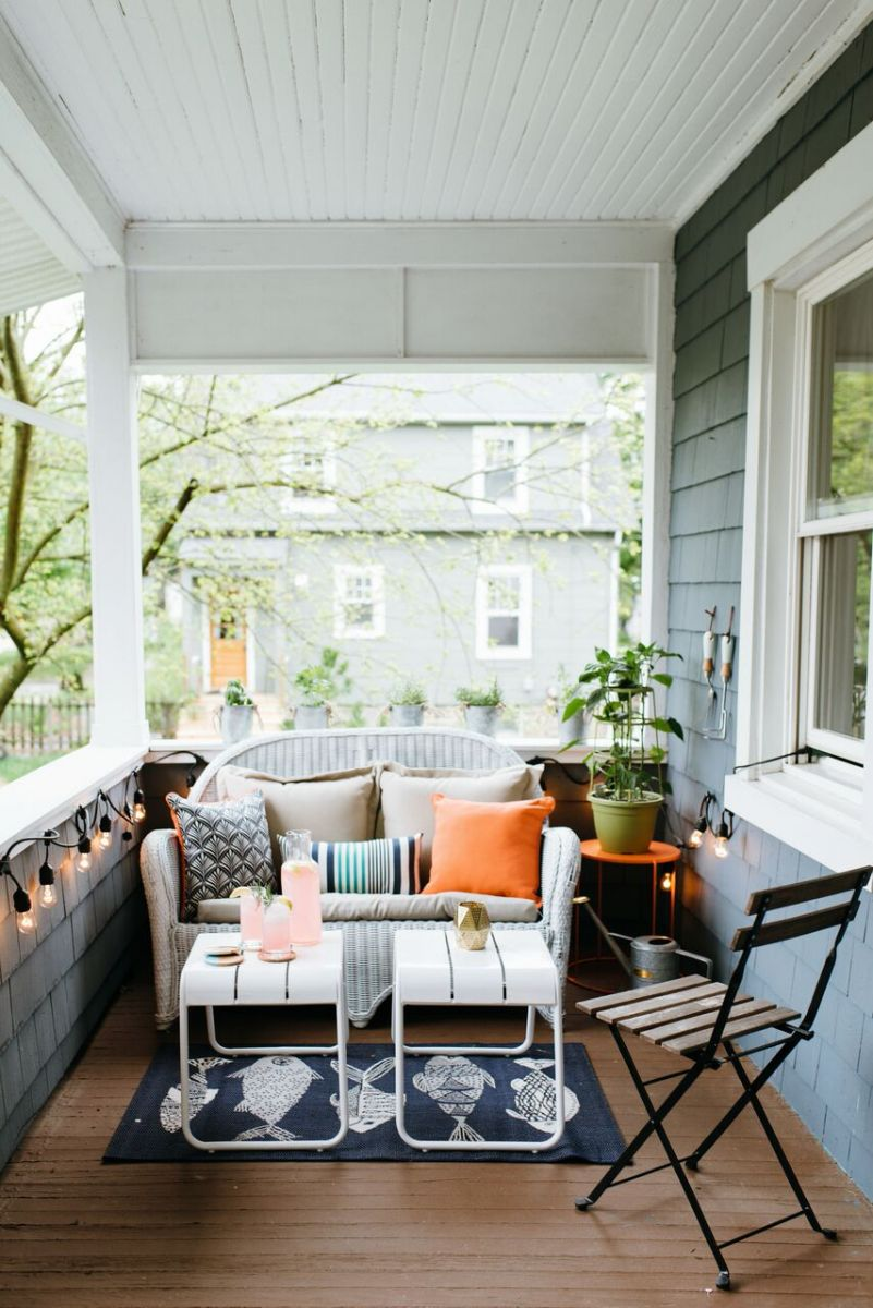 Inspirerende veranda make-over
