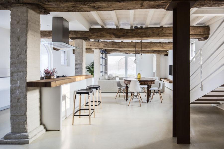 Inspirerende verbouwing van een mooie rustieke Italiaanse woning