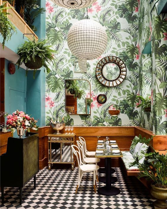 jungle-behang-restaurant