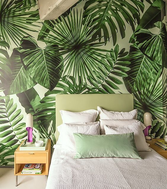 jungle-behang-slaapkamer