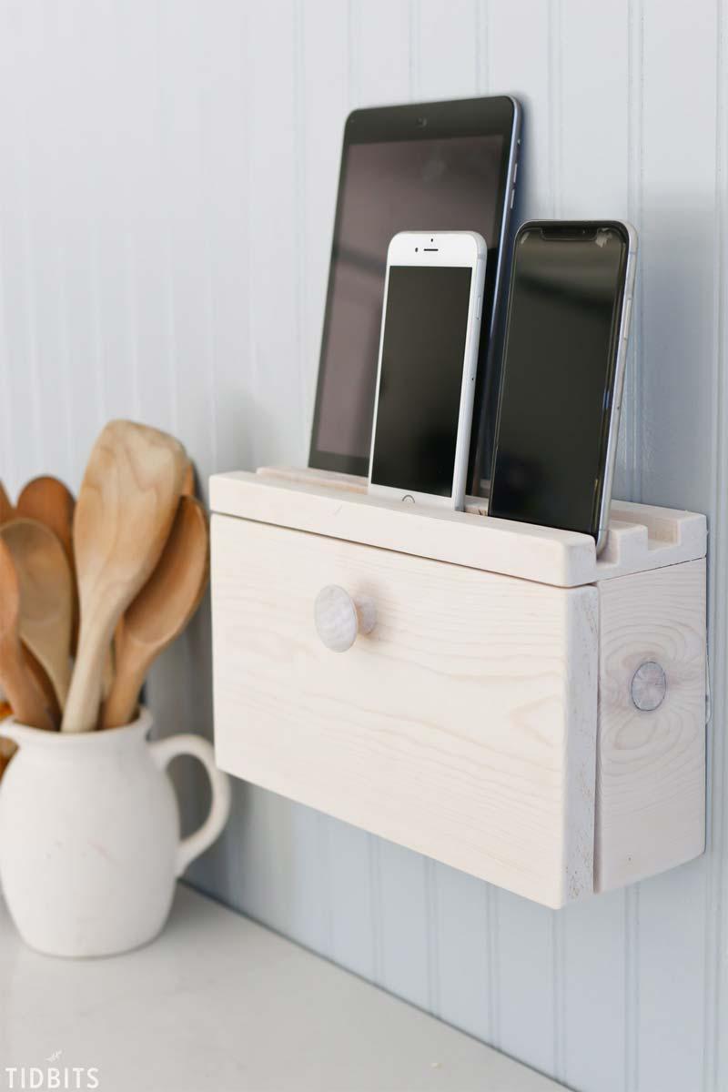 kabels wegwerken telefoon tablet