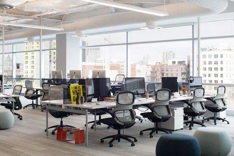 Het kantoor van e-ticketingbedrijf Eventbrite