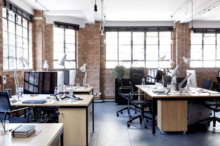 kantoor inrichten tips industrieel