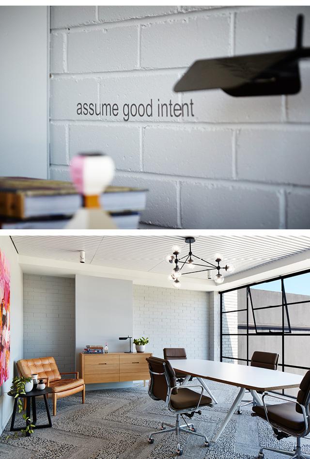 Het kantoor van interieurontwerp bureau Arkee
