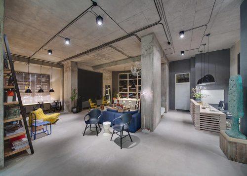 Kantoor en showroom van Dizaap