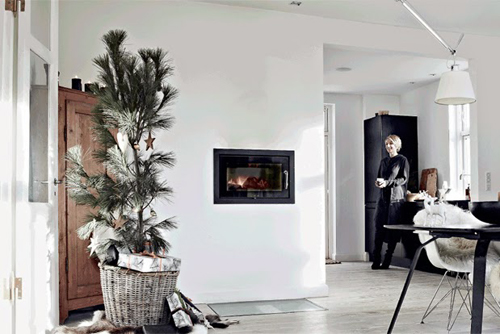 Kerstsfeer in huis