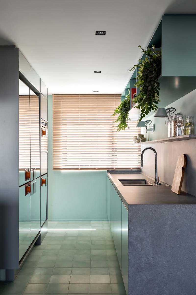 keuken betonlook werkblad