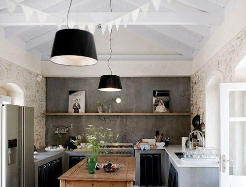 Keuken van Grieks vakantiehuis Villa Kalos