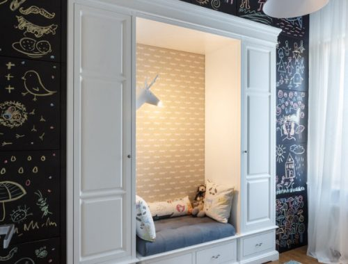 Kinderkamer met leuke creatieve ideeën